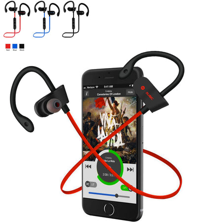 Sweat-Proof Noise-Canceling Wireless Bluetooth Earbuds - Assorted Colors - christmasgiftbuy