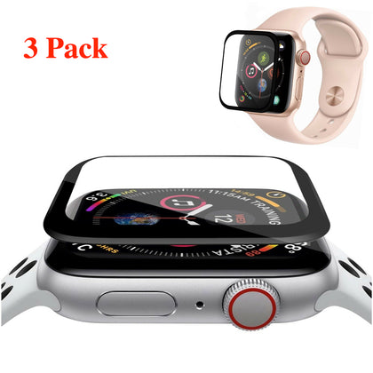 3D Coverage Screen Protector Cover for Apple Watch Series 1 2 3 4 5 iWatch - christmasgiftbuy