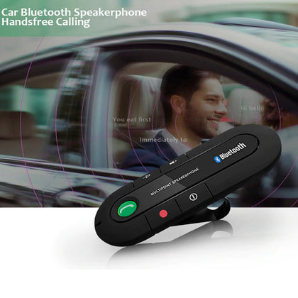 AE Magnetic Multipoint Wireless Bluetooth v4.1 Car Speakerphone - christmasgiftbuy