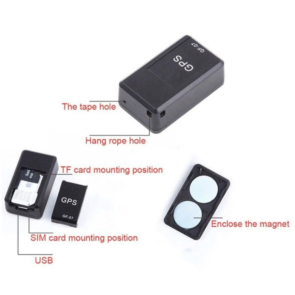 GF07 Mini Magnetic GPS Tracker
