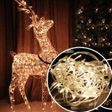 Christmas Lights 33' 100-LED Fairy Light String with 8 Movement Patterns - 9 Colors