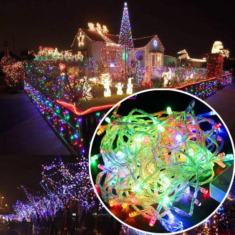 Christmas Lights 33' 100-LED Fairy Light String