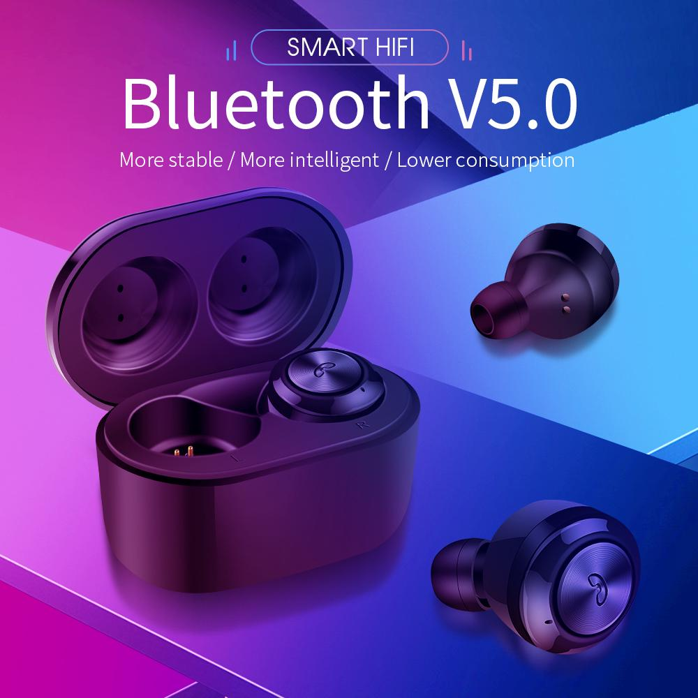 Bluetooth Stereo Binaural Earphones