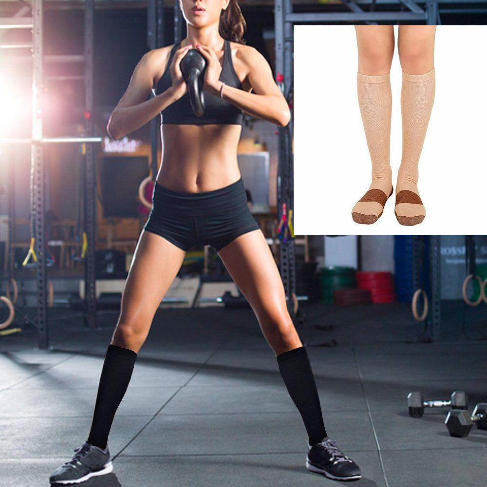 Unisex Soft Anti-Fatigue Copper Compression Socks-5 PAIR