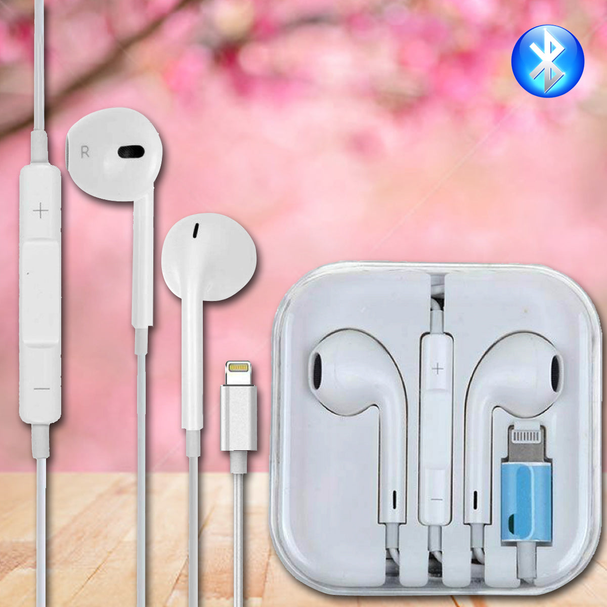 Oem Quality Bluetooth Headphones Earbuds Headsets For Apple Iphone 7 8
