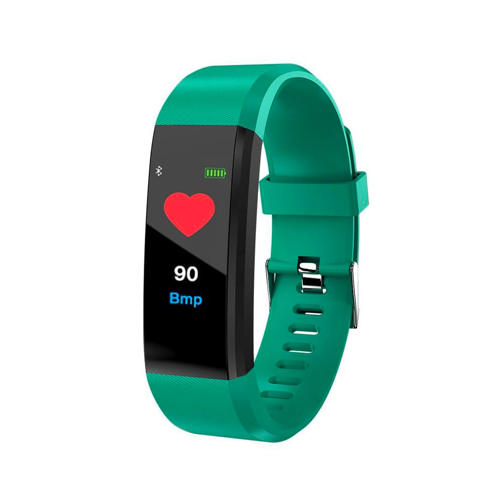 Bluetooth Wireless Fitness Smart Watch Activity Tracker with Heart Rate Sensor