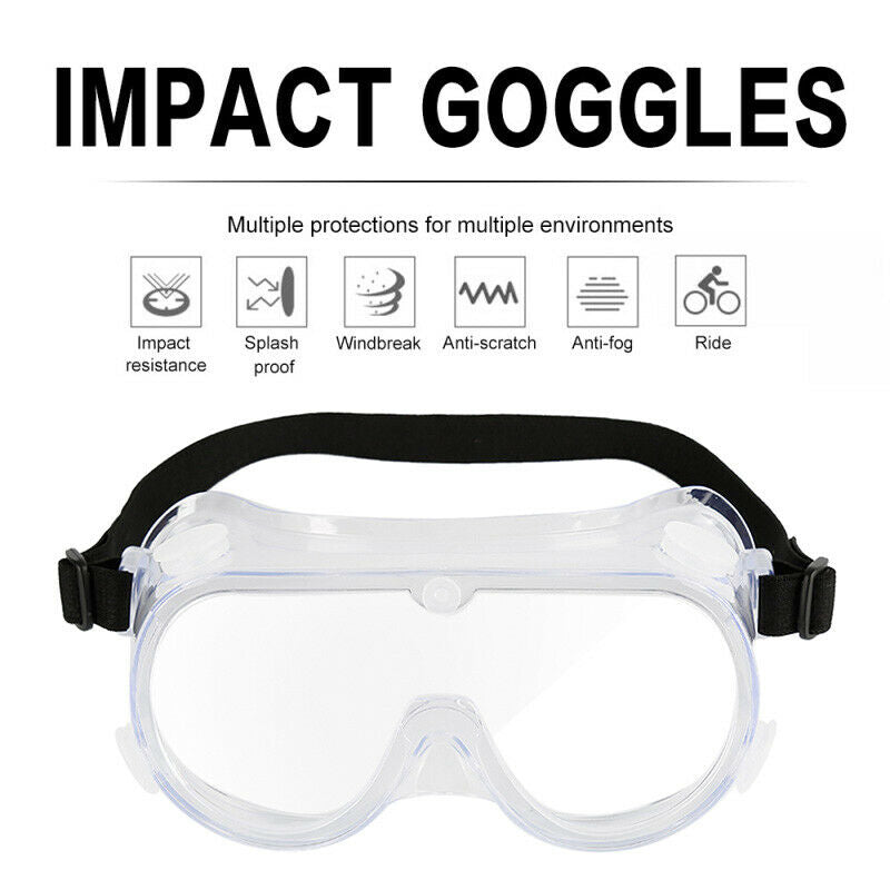 Anti-fog and dust-proof goggles workshop laboratory safety accessories arc frame