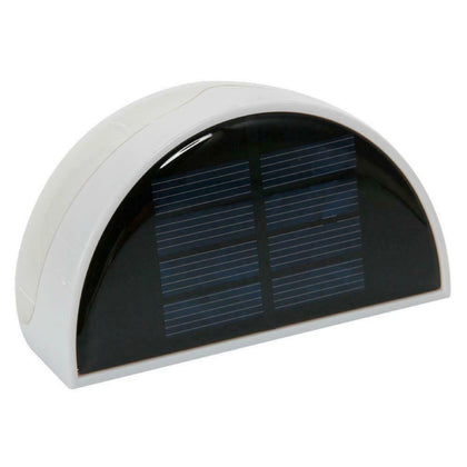 Outdoor Garden Solar Powered Light Gutter Fence Yard LED Wall Mount Solar Lamp - christmasgiftbuy