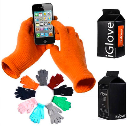 iGlove Unisex Capacitive Touchscreen Gloves-All Colors