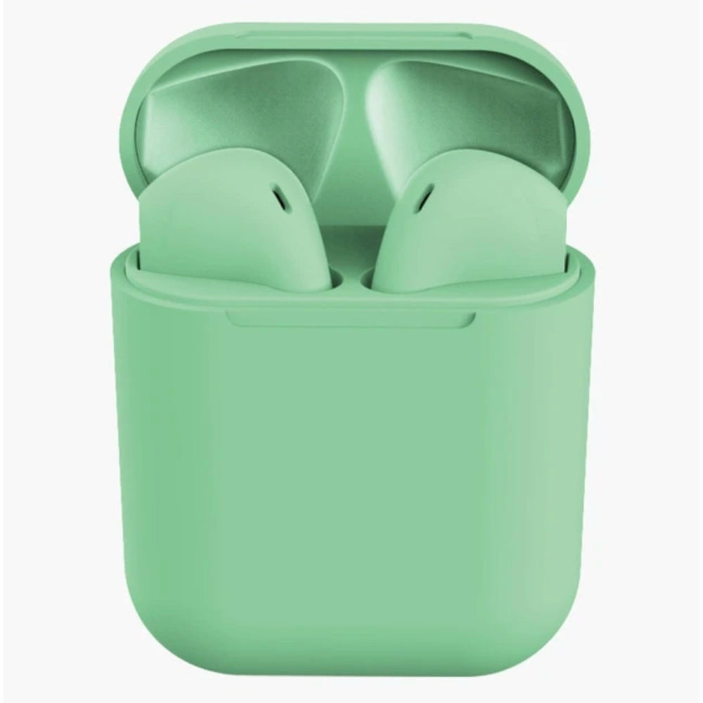 Rubber Matte Wireless Earbuds and Charging Case