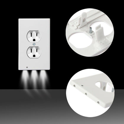 LED Night Light Outlet Cover - Assorted Styles - christmasgiftbuy