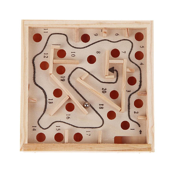 Toddlers' Educational Wooden Ball Maze Game Toy