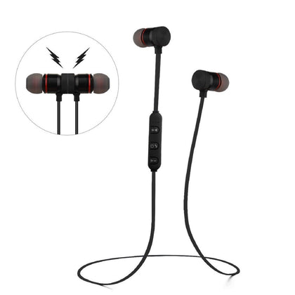 Wireless Bluetooth v4.1 In-Ear Stereo Sweat-Proof Sport Headphones with Magnetic Lock - christmasgiftbuy