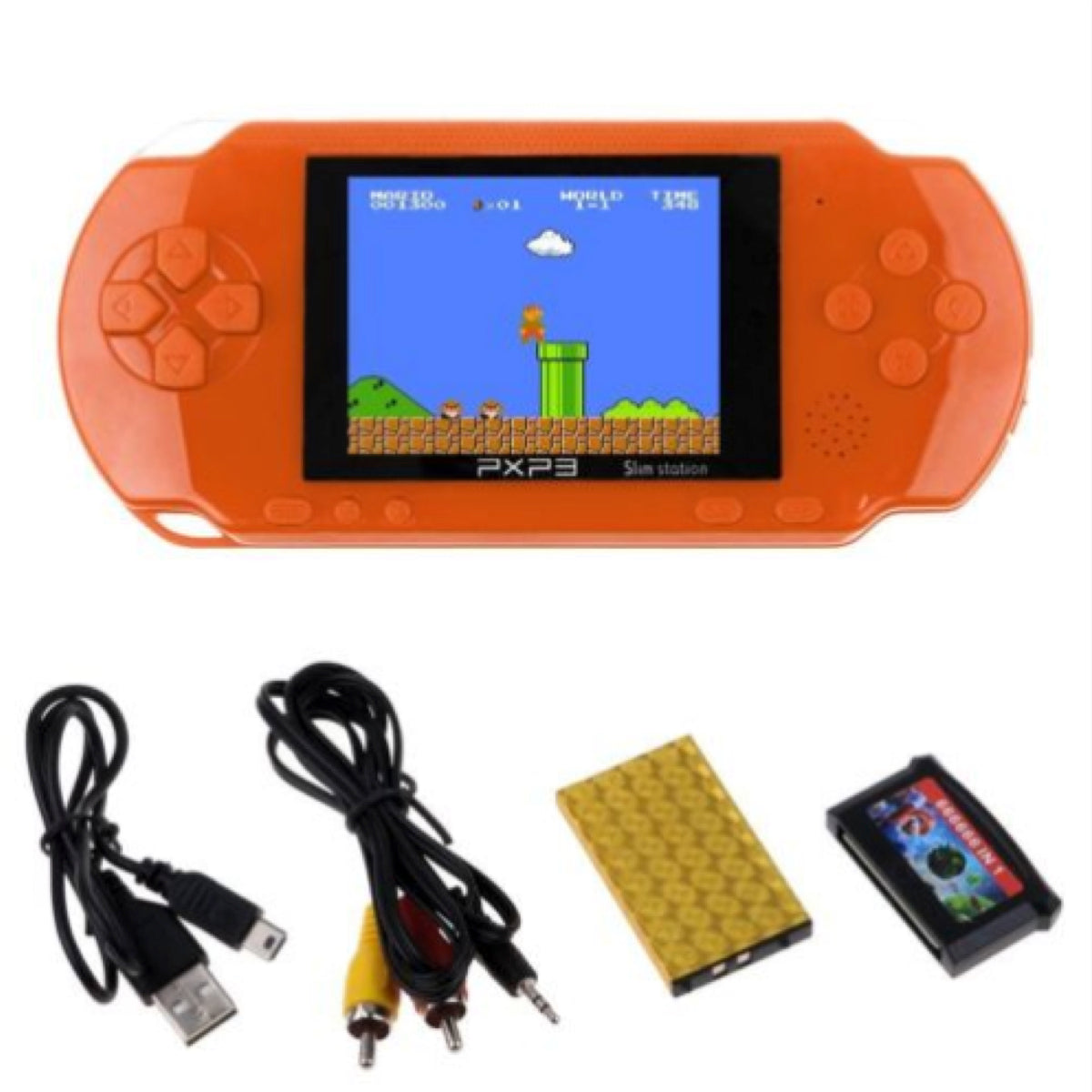 PXP3 Portable Handheld Video Game System with 150+ Games