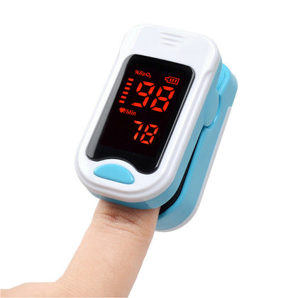 FDA Finger Tip Pulse Oximeter Blood Oxygen meter SpO2 Heart Rate Monitor - christmasgiftbuy