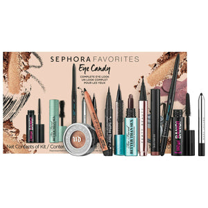 SEPHORA FAVORITES Eye Candy 9-Piece Set