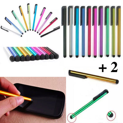 12-Pack: Stylus Pens for Touchscreen Devices