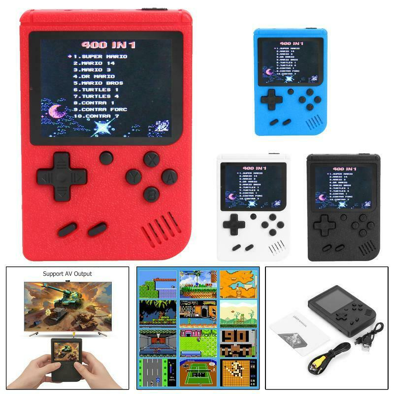 SUP Game Built in 400 Classic Games Mini TV Handheld Video Game