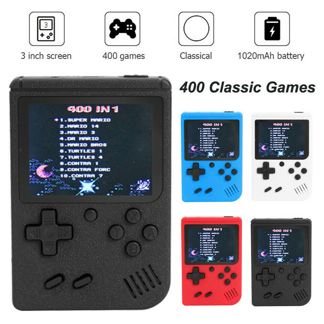 400 Classic Games Mini TV Handheld Video Game Box Console Retro NES 2019 PXP3