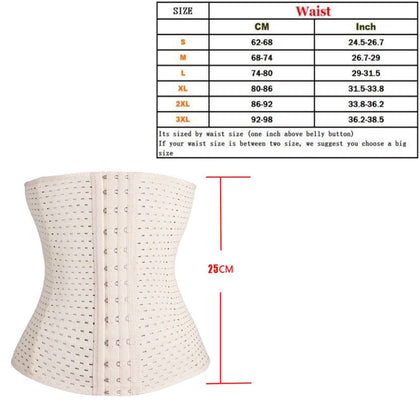 Body Shaper Fajas Reductoras Shape wear Waist Trainer Underbust Cincher Tummy Belt UNISEX - christmasgiftbuy