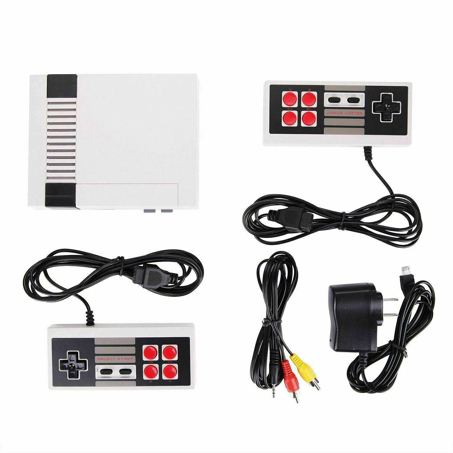 Classic Video Game System with Over 620 Built-In Games