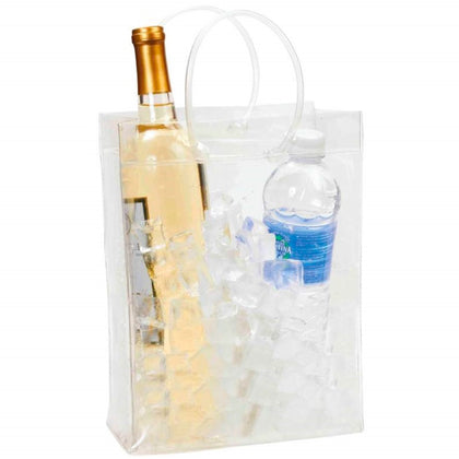 Transparent Wine & Beverage Ice Chest with Handles For 2 Wine - christmasgiftbuy