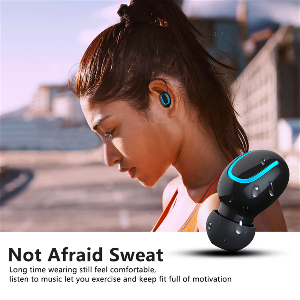 Wireless Earbuds, Bluetooth 5.0 True Wireless Built-in Mic TWS Headphones