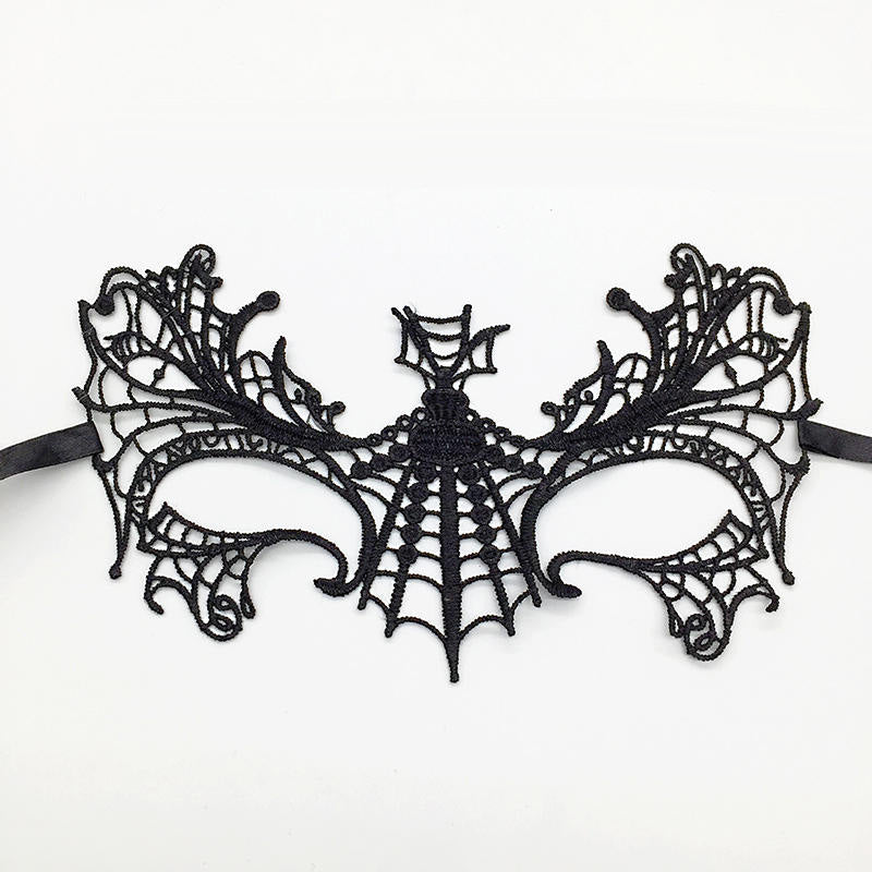 Sexy Lace Mask Masquerade Halloween Masks Party Cosplay Catwoman Eye Maske Carnival Ball Face Women Mascara Carnaval Masque Prop