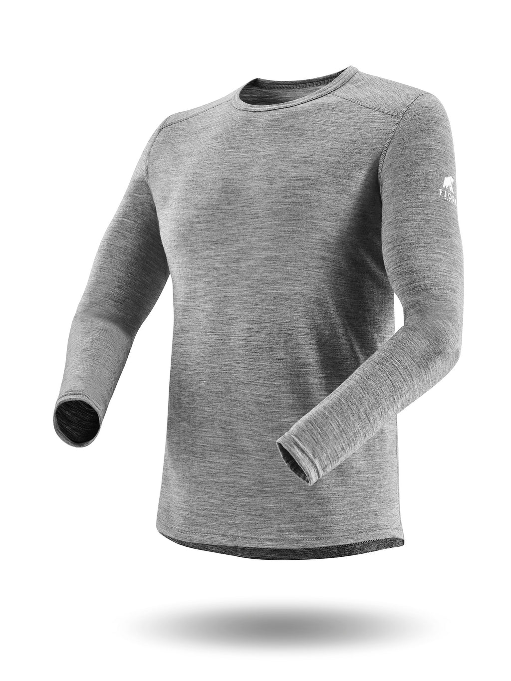 FINN 140 G  ML HEATHER GREY