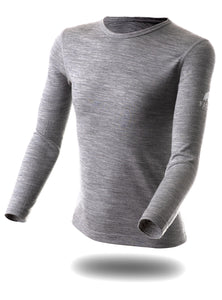"Boys Top ""Saas-Fee Grey"" 210G."