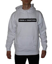 Load image into Gallery viewer, T&C White Logo Hoodie