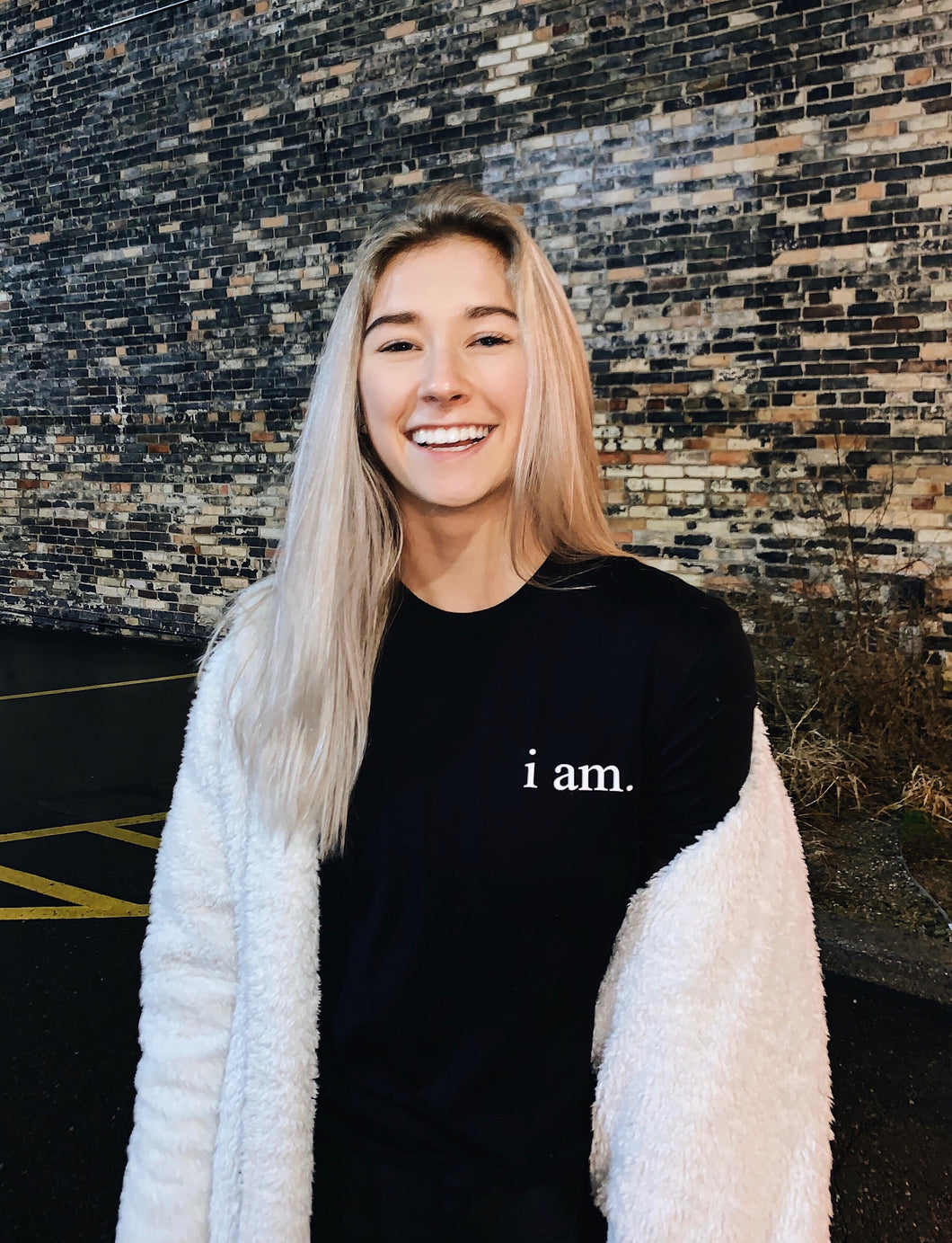 i am. x T&C // Donation Tee