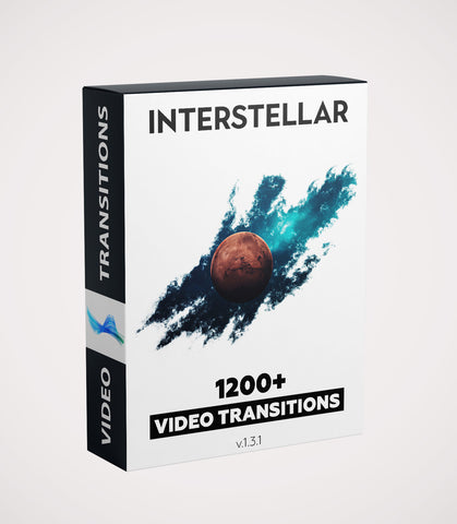 INTERSTELLAR 1200+ VIDEO TRANSITIONS