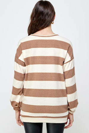 The Sam Striped Shirt - Sweet Teens Shop