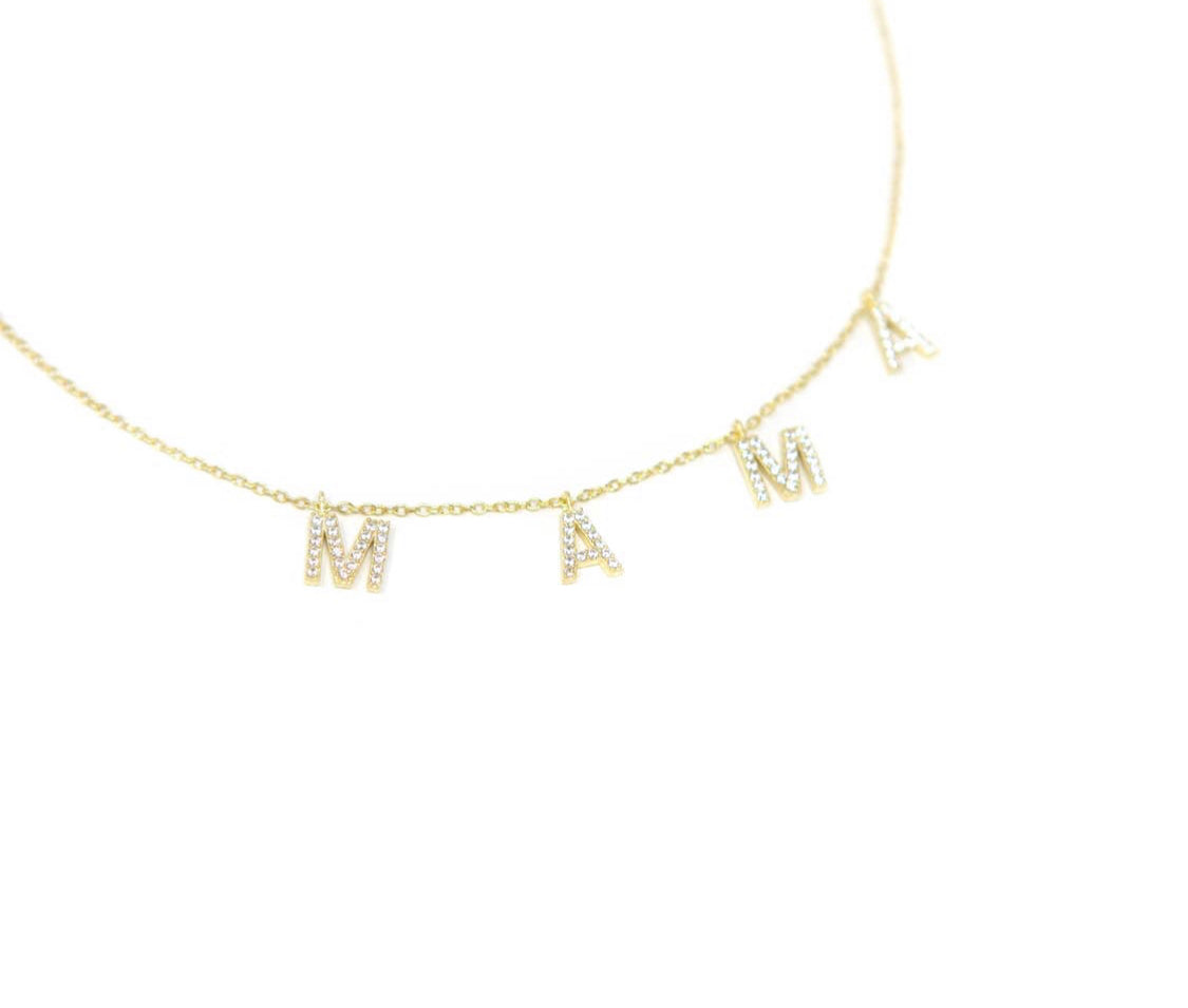It's All About Mama Necklace - Sweet Teens Shop