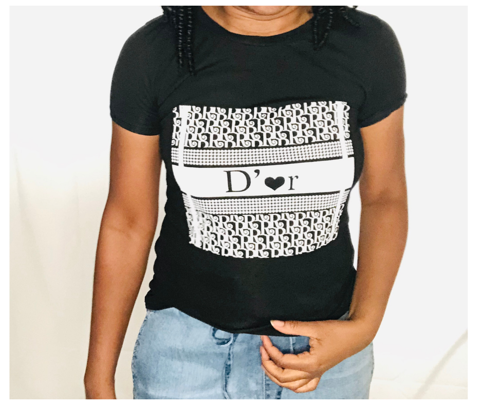 D'or Graphic Tee - Sweet Teens Shop