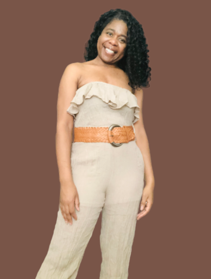 The Dianna Ruffle Jumpsuit - Sweet Teens Shop