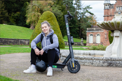 Zwings E-scooters Ready To Rent at The Keele Campus