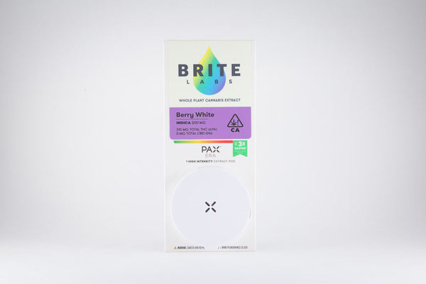 Berry White 0.5g Pax ERA Pod (I) by Brite Labs