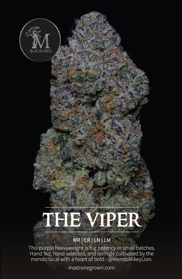 (I)Viper Cookies *Black Label* (28% THC) by Madrone