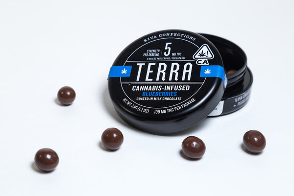 Terra Blueberry Bites 100mg by Kiva