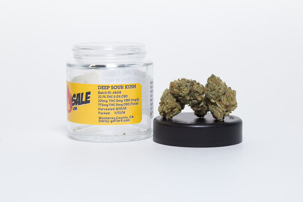 Deep Sour Kush 3.5g by Fire Sale