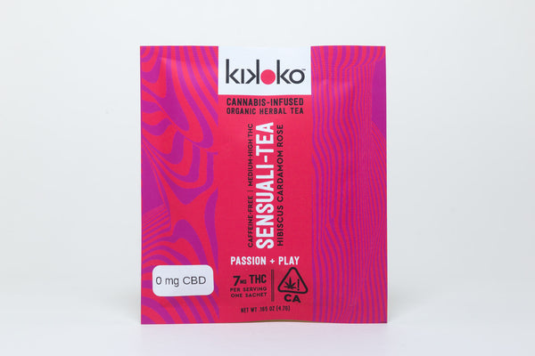 Sensuali-Tea Pouch 7mg THC by Kikoko