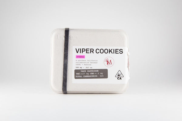 Viper Cookies 0.5g Cartridge (I) by Level *Customer Favorite*