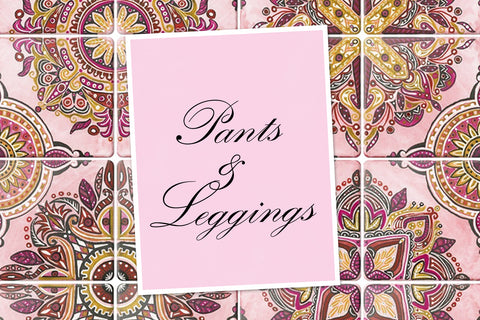 PANTS AND LEGGINGS