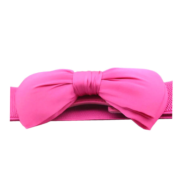Pink Bow Belt - MAZI