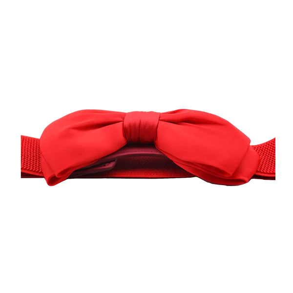Red Bow Stretch Belt