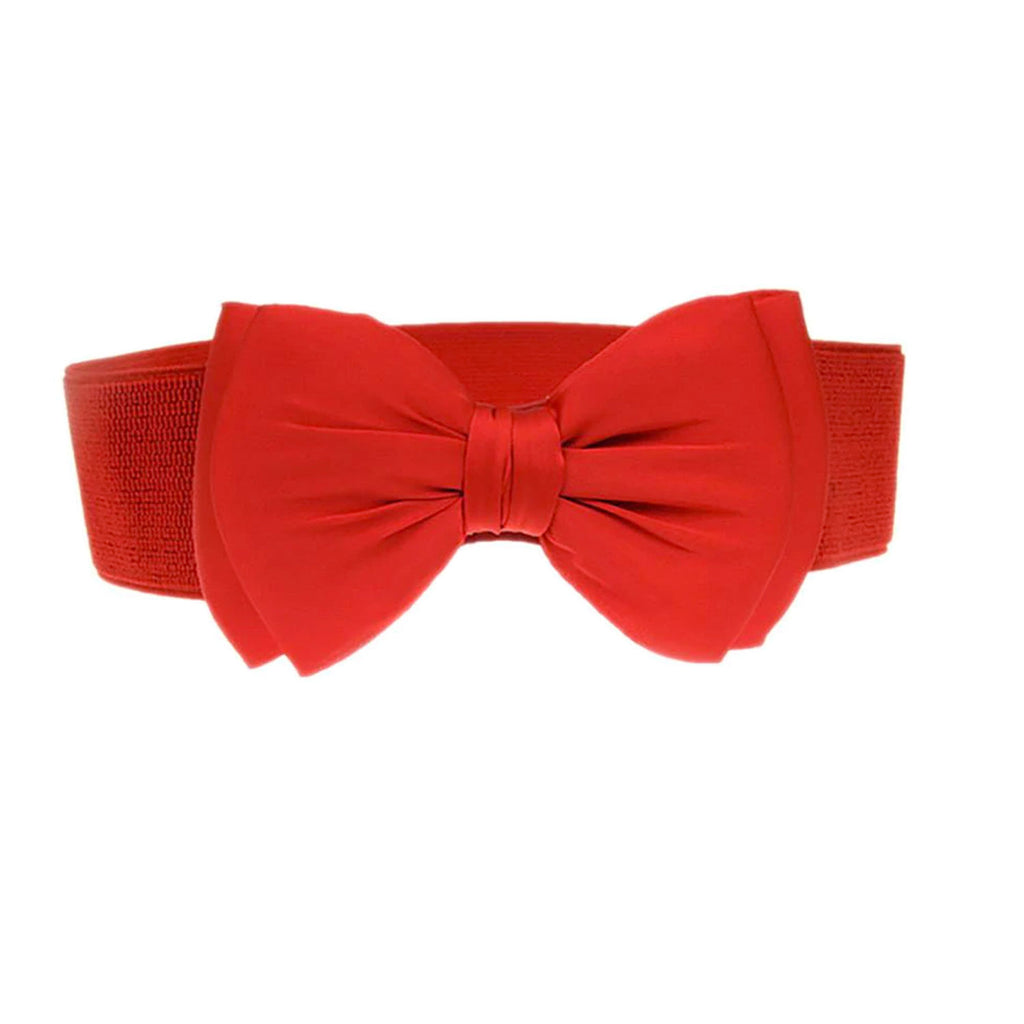 Red Bow Belt - MAZI