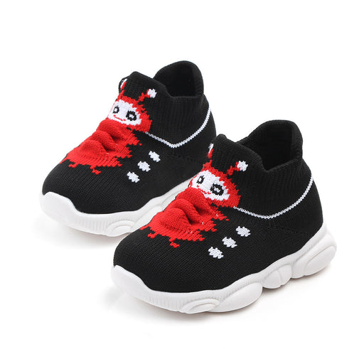 Babyqlo Bug Feature Soft-top Shoes for Infants