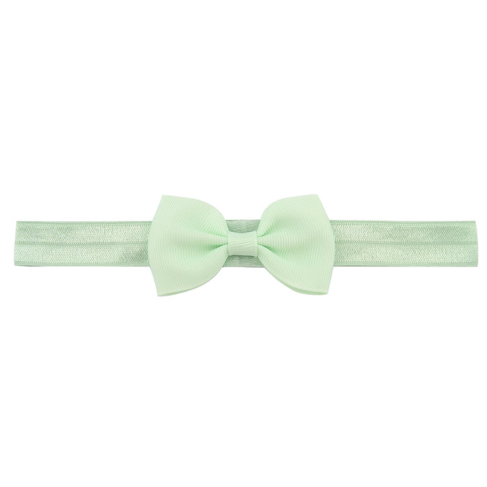 Bow-knots Solid Ribbon Bow Headbands - shopfils.com